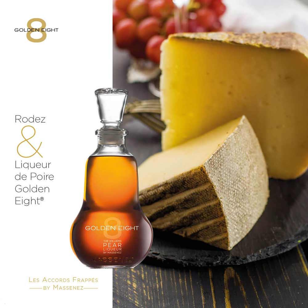 rodez & liqueur de poire golden